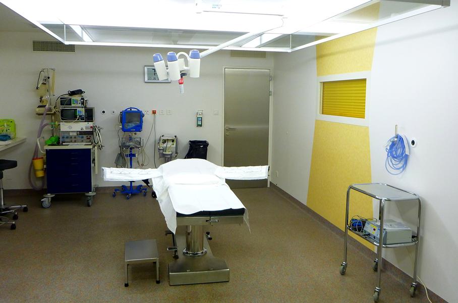 OP-Saal Anästhesie - Praxisklinik für Chirurgie